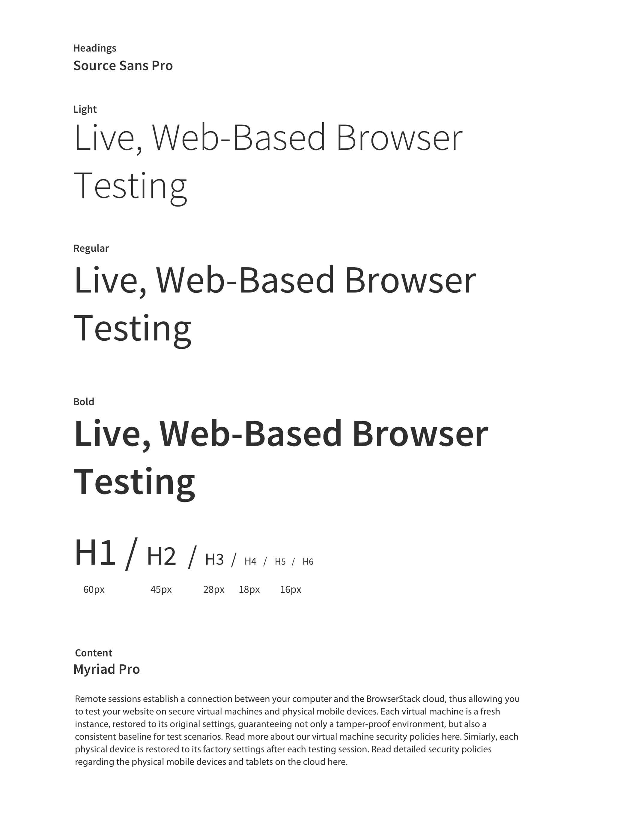 Type-Browserstack